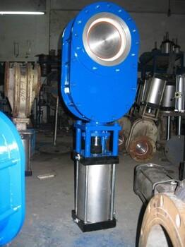PZ641TC气动耐磨陶瓷排渣阀