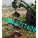 中山小型立柱挖坑机电线杆挖坑机联系电话