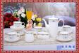 欧式陶瓷咖啡具套装英式下午花茶茶具咖啡杯碟送架子结婚生日礼物