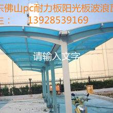 广西南宁耐力板雨篷厂家最新批发价-广东真耐图片