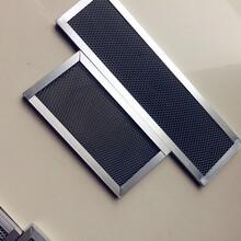 纳米光触媒催化板二氧化钛光触媒催化板铝基蜂窝光触媒过滤网图片