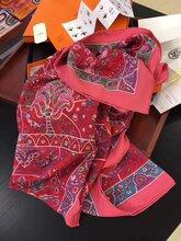 巴宝莉围巾长度爱马仕丝巾规格,高端定制、厂家批发