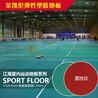 海诺斯绿色环保PVC地板运动塑胶PVC运动地板地胶地垫羽毛球场篮球场等运动场所适用