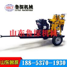 地质钻探机液压钻井机XYX130轮式打水井的工具水井钻机图片