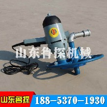 山東魯探1500W兩相電動打井機家用便攜式水井鉆機單人操作圖片