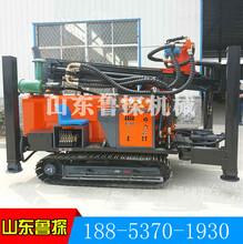 260米氣動鉆井機圖片價格山東魯探履帶式大型水井機械設備圖片
