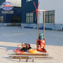 魯探機械三相電小型勘探設備QZ-2A途微型工程鉆機方便簡單圖片