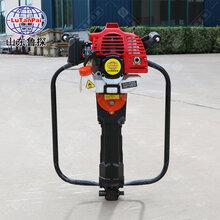 山东鲁探QTZ-1汽油机款便携式取土钻机土壤采集器多功能取土器图片
