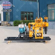 鲁探200型液压岩芯钻机取芯钻孔基础勘探设备图片
