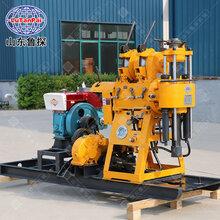 山东鲁探全自动液压钻井机HZ-200Y深水井200米钻机设备图片