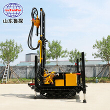 廠家直銷履帶式氣動打井機CJDX-160型鉆井打巖石設備圖片