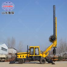 輪式旋挖鉆機大型打樁機建筑樓房地基鉆孔打樁機圖片