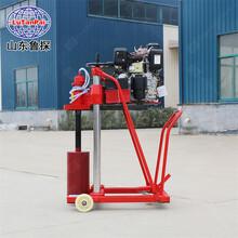 山東魯探HZC-20柴油機動力混凝土取芯工程質檢用設備圖片