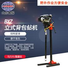 魯探立式背包鉆機BXZ-2L便攜式取芯鉆機可拆解科勒汽油機動力圖片