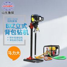 山东鲁探BXZ-2L地质轻便型钻机背包式岩心钻机工勘施工设备图片