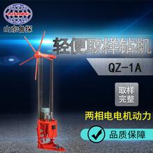 山東魯探QZ-1A型兩相電取樣鉆機小型工程鉆探機淺層取樣機圖片