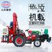 供應JZ-C拖拉機載正循環打井機柴電兩用鉆井機轉場方便