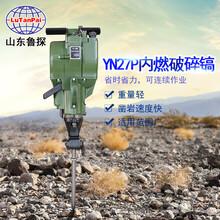 用沖擊式破碎錘二沖程汽油機找山東魯探YN27P內燃破碎鎬圖片