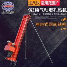 供應小型氣動潛孔鉆機KQZ-100煤礦用鉆孔打眼鉆機體重輕效率高圖片