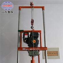 供應便攜式大功率汽油打井機小型家用100米深水井鉆機設備圖片