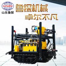 山東魯探CJDX-160履帶式氣動水井鉆機水井潛孔鉆機圖片