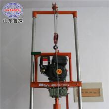 野外好用SJQ型汽油打井机小型钻井机从事打井的理想工具