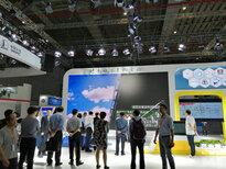 上海国家会展中心的智能制造展智慧物流AGV展区图片1