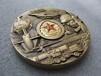 工厂定制纪念章徽章中国兵器大铜章立体3D浮雕金属锌铝合金礼品现货批发