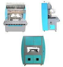 硅胶商标点胶机-硅胶滴塑机-阳江多色硅胶商标滴胶设备图片