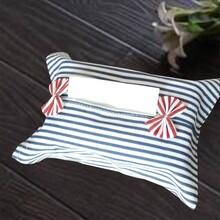 棉麻纸巾套纸巾袋纸抽袋个性车载布艺纸巾盒抽纸盒纸巾包图片