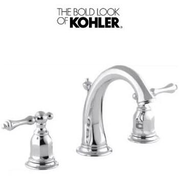 美国科勒KOHLERK-13491-4-CP浴室水龙头