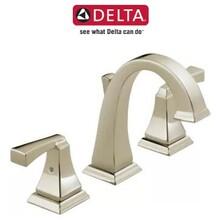 美國得而達Delta3551LF鍍鉻Dryden浴室水龍頭圖片