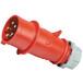 启星QX35芯16A防护IP44工业插头移动插头现货供应