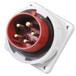 啟星QX8295芯16A防護IP67工業暗裝插頭防水固定
