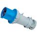 QX1227启星3芯63A防护IP44工业插头移动式