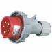 启星QX-2885芯16A防护IP67工业插头经济型防水防尘