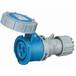 启星QX-5523芯32A防护IP67工业插座连接器经济型