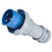 启星QX34003芯125A防护IP67工业插头可移动