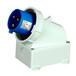 明装插头QX10063芯32A防护IP67防水插头可移动