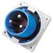 工业插头QX8363芯63A防水暗装插头防护IP67