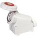 工業插座QX12064芯32A防護IP67明裝插座防水