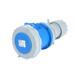 工业插座QX-15743芯63A防护IP67连接器防水可移动