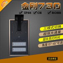 世纪阳光农村一体化太阳能路灯6米30W户外照明led灯红外感应院墙智能路灯