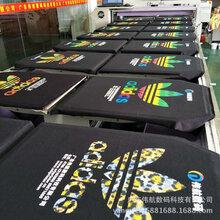 广东衣服印花机厂商T恤印花直喷机抱枕打印机小加工创业项目图片