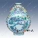 年終高檔禮品陶瓷禮品花瓶居家裝飾花瓶廠家康乾彩