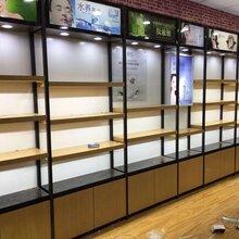廠家大量批發超市貨架藥房貨架鋼木貨架生鮮貨架便利店貨架等圖片