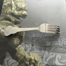 厂家定制不锈钢餐具水果叉,西餐简约牛排刀叉,金属叉子来图定制