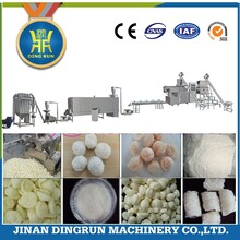 新型工业玉米淀粉膨化机预糊化淀粉生产线变性淀粉设备生产线