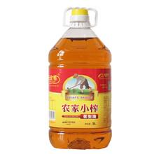 玉金香花生油农家自榨5升花生油招商图片