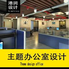 广州港润设计办公室设计室内设计原装现货图片